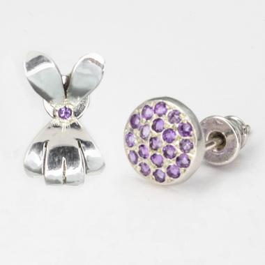 Kolczyki Lovely Violet