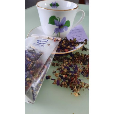 Herbata FIOŁKOWY POEMAT na...